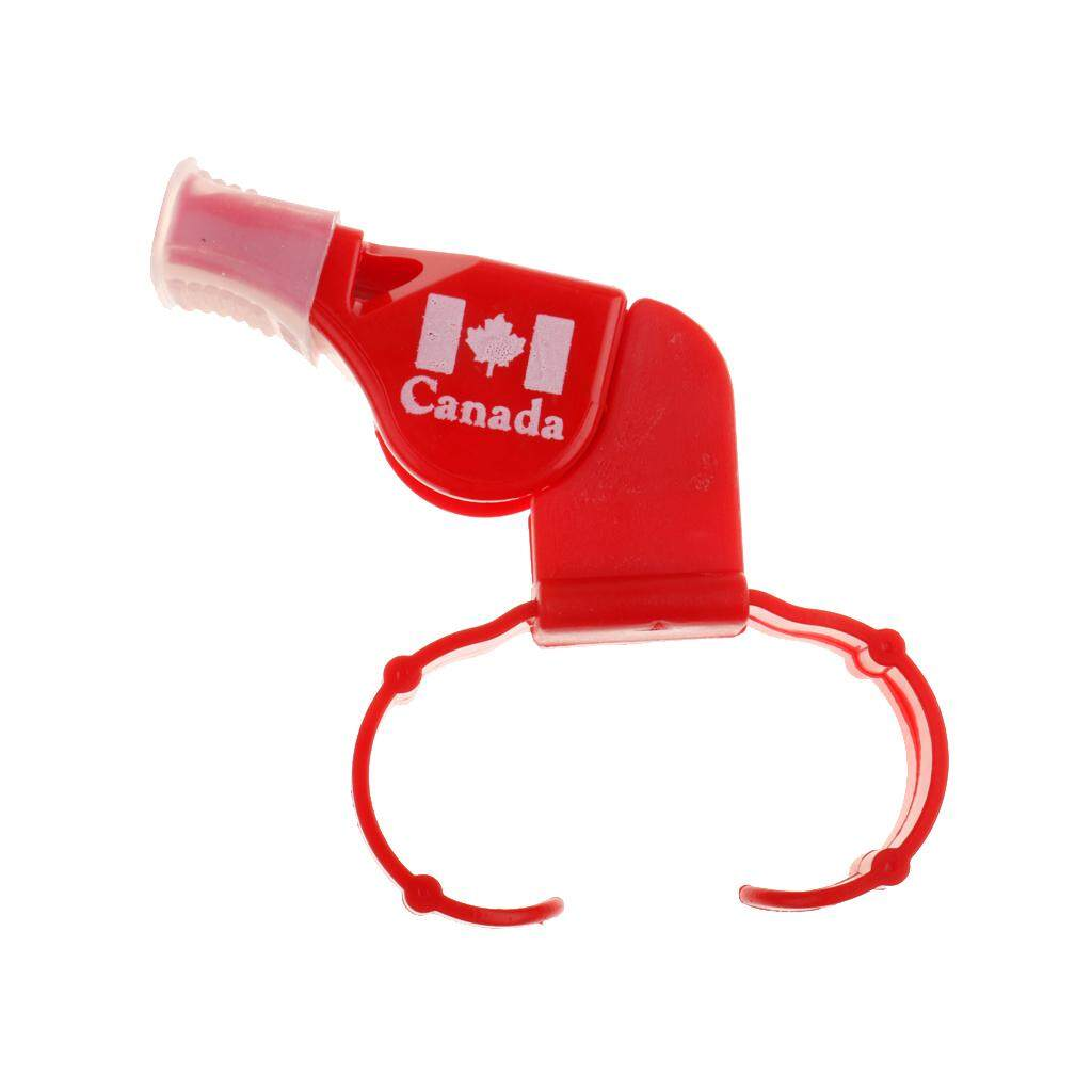 Flameer Plastic Derby Skate/football/sport Referee Finger Mouth Grip Whistle Red By Flameer.
