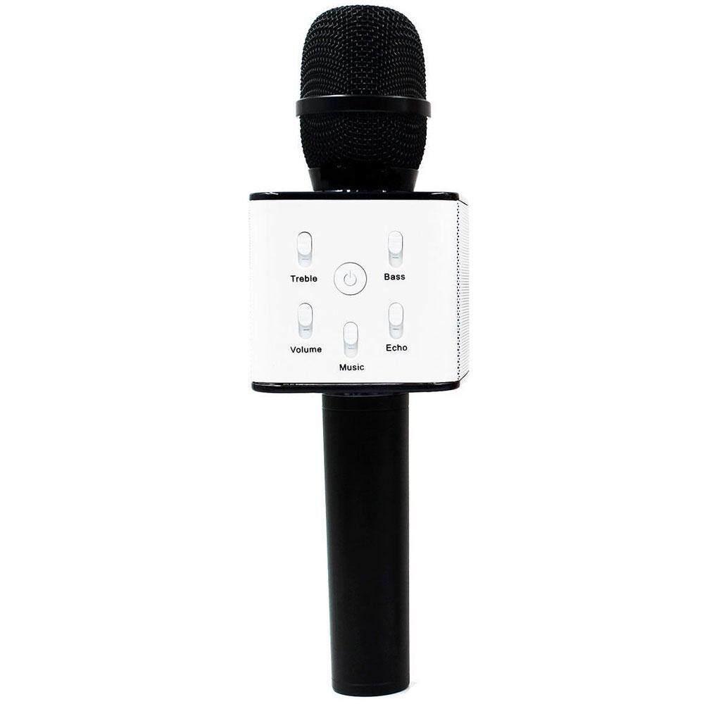 Portable Wireless Karaoke KTV Microphone Mic Handheld Condenser Microphone with Wireless Bluetooth Speaker Singing Stere -