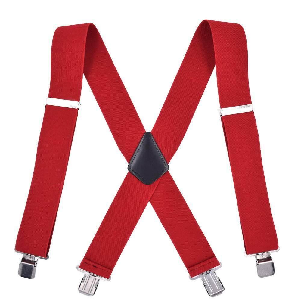 Xiang Ru ผู้ชาย X - Back ปรับกว้างสายเดี่ยว Suspenders By Small Gift Big Surprise.