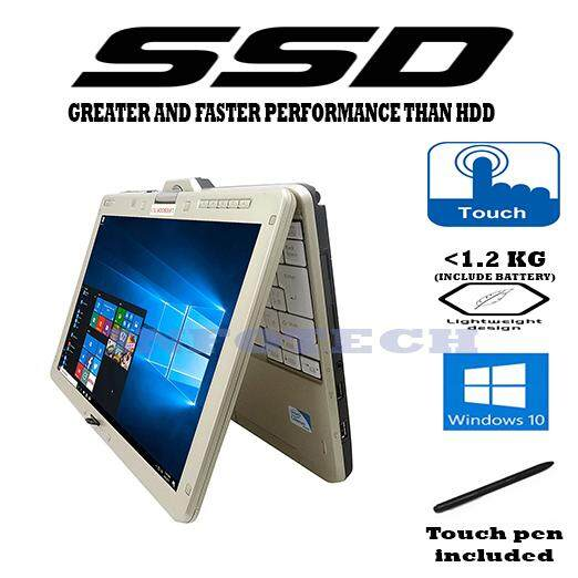 Fujitsu Intel Celeron 2GB DDR3 SSD TOUCH PEN FLIP SCREEN LIGHT Lifebook LAPTOP NOTEBOOK NETBOOK Malaysia