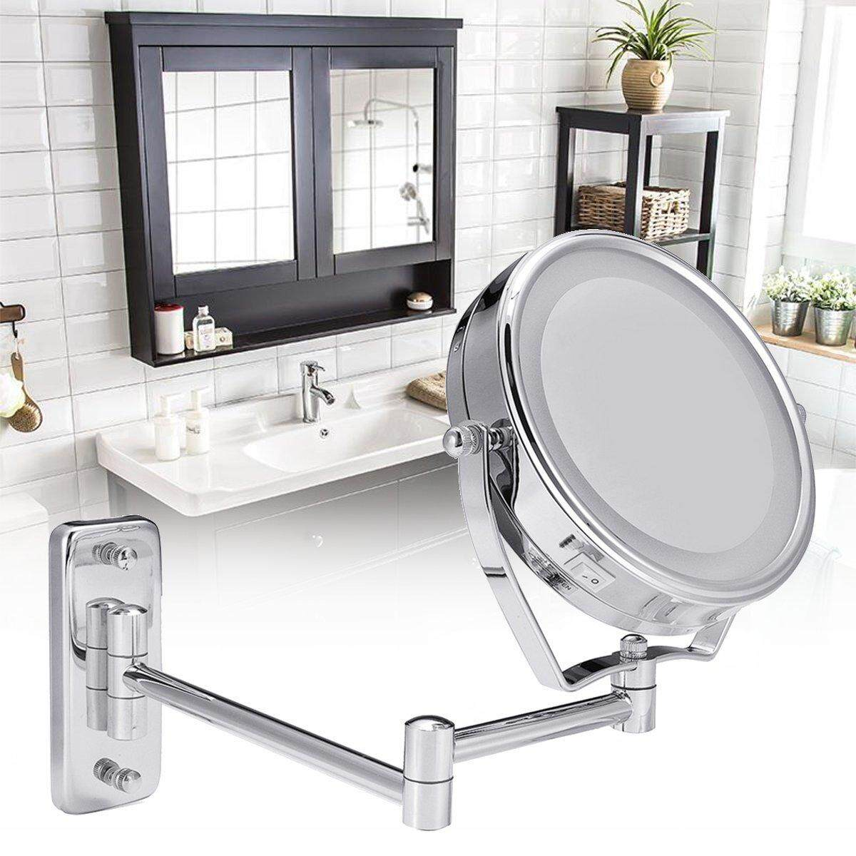 Features 15x Magnifying Mirror 3 5 Suction Cup Women Makeup Face ...
