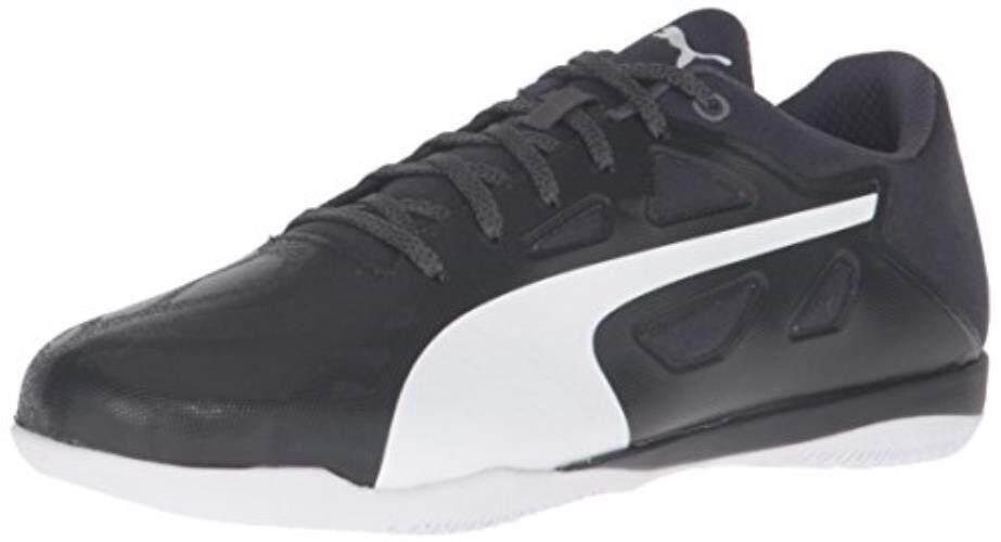 Puma Pria EvoSPEED Sala 1.5 Sepak Bola Sepatu Hitam Putih Aspal d8deb954d3