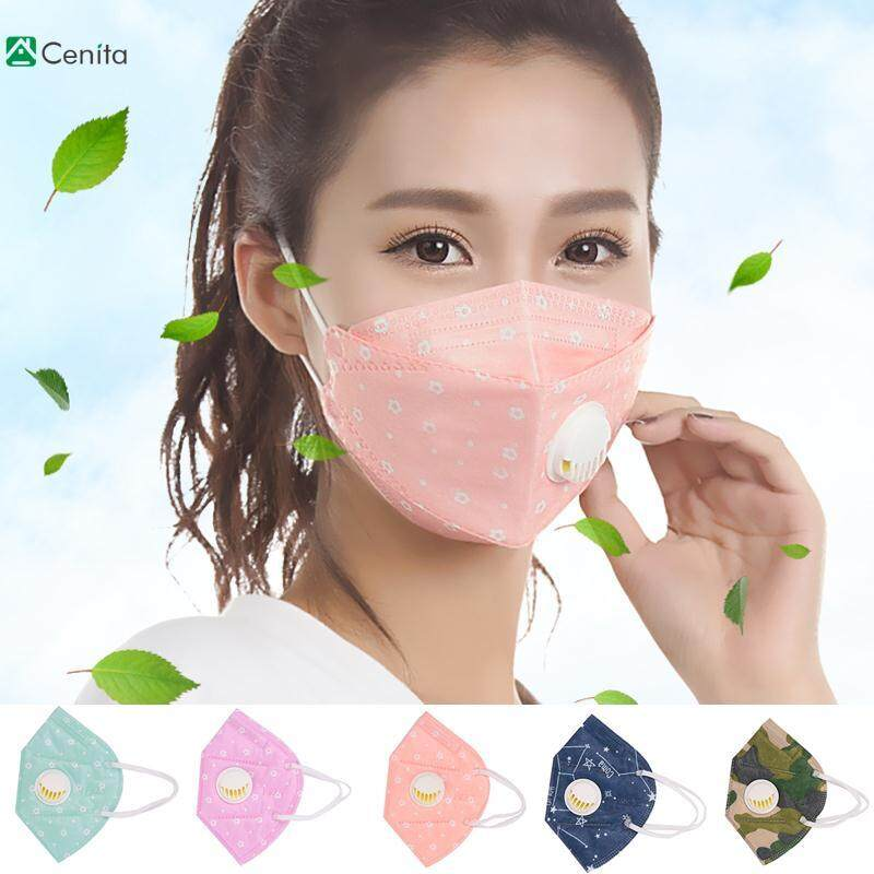 Cenita Anti-Dust Mask Head Respirator Breathable Color Random Bicycle Hiking