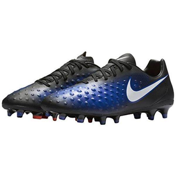 Nike Mens Magista Onda II Fg Black/White Paramount Blue Soccer Cleat en US - intl