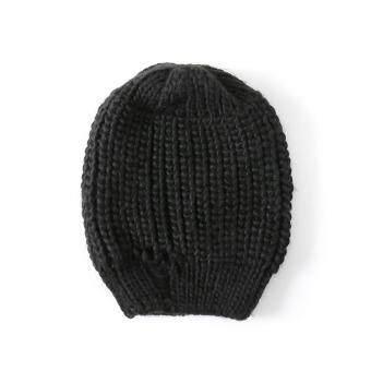 Pencarian Termurah Petpet topi musim semi dan musim gugur Pria dan wanita anak  topi wol rajut d6dd64dade