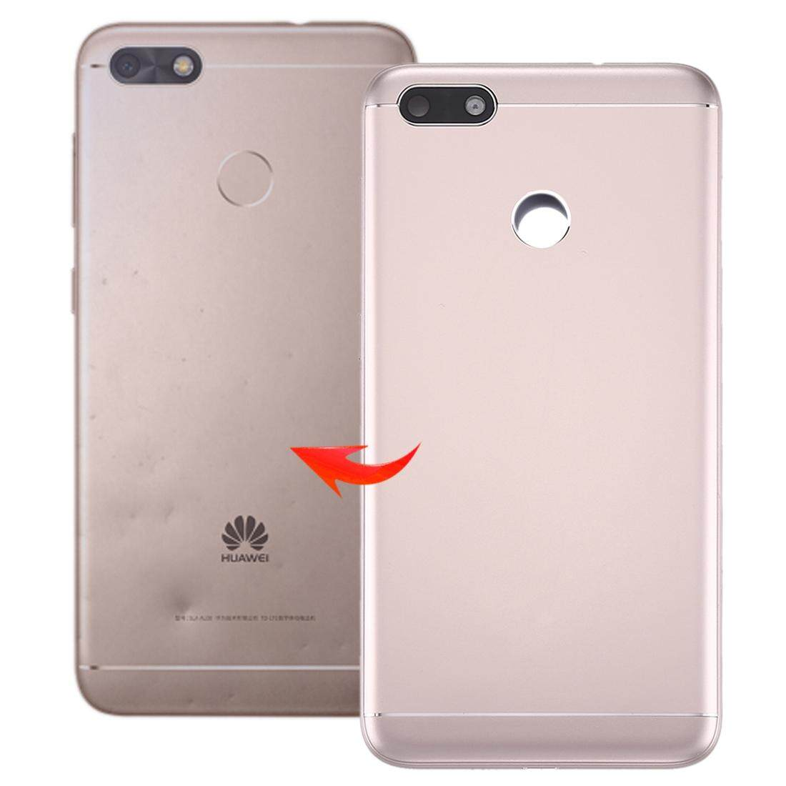 for Huawei Enjoy 7 / P9 Lite Mini / Y6 Pro (2017) Back Cover(Gold)