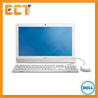 Dell Inspiron 20 3000 Series (3052) AIO Desktop PC (N3700 2.40Ghz/1TB/4GB/19.5inch/Win10) - White