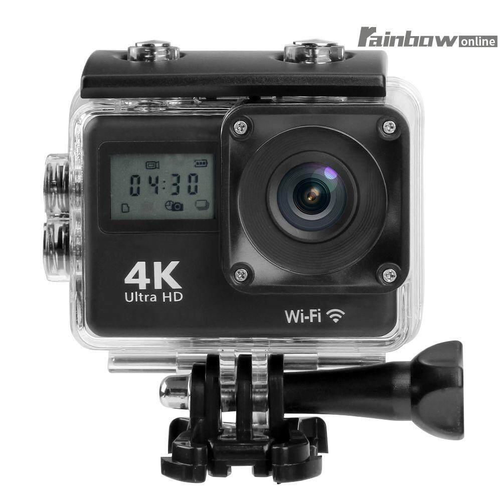 Mini Dual Screen 170 Lens 4k Wifi Action Camera Waterproof Camcorder Webcam - Intl By Rainbowonline.