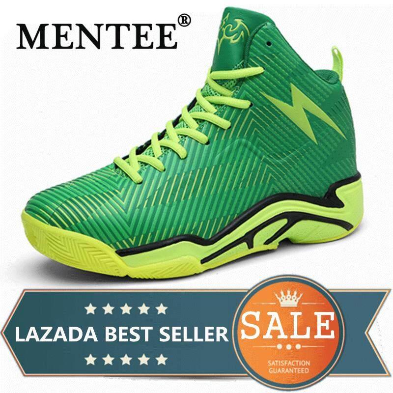 Mentee Ukuran 36-45 Pria Sepatu Basket untuk Outdoor Atasan Tinggi Pergelangan Kaki Meningkatkan Pria & Wanita Sepatu Olahraga Basket Pasangan Sneakers