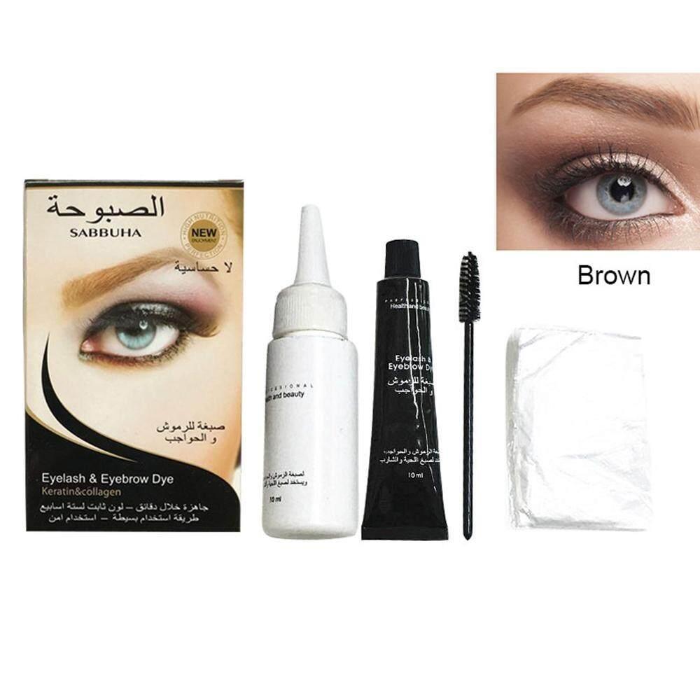 leegoal Eyebro Tint Kit - 5 Minutes Fast Color, Semi-temporary Waterproof Sweat-resistant Long Lasting Eyebrow Dye Cream Philippines