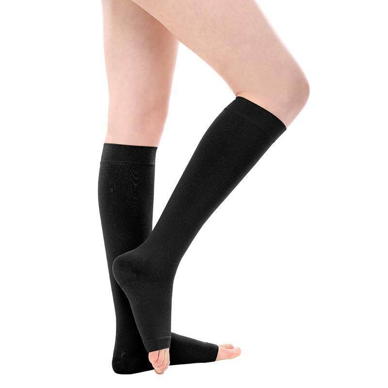 2a0a309b55 (Size:S, Black)1 Pair Medical Varicose Veins Socks 23-32mmHg