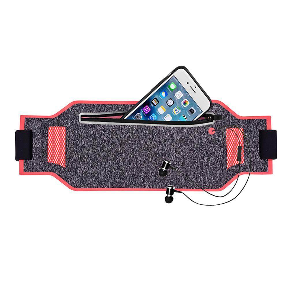 Niceeshop Running Belt Waistband Sweatproof Running Pouch Belt For Smartphones Running Belt Fanny Packs For Women Men, Reflective Waist Pack Belt By Nicee Shop.