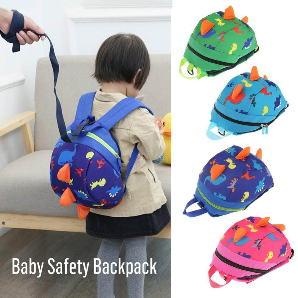 Cute Cartoon Dinosaur Baby Safety Harness Backpack Toddler Anti-lost Bag  Children Schoolbag - intl 6f82f5bf86f47