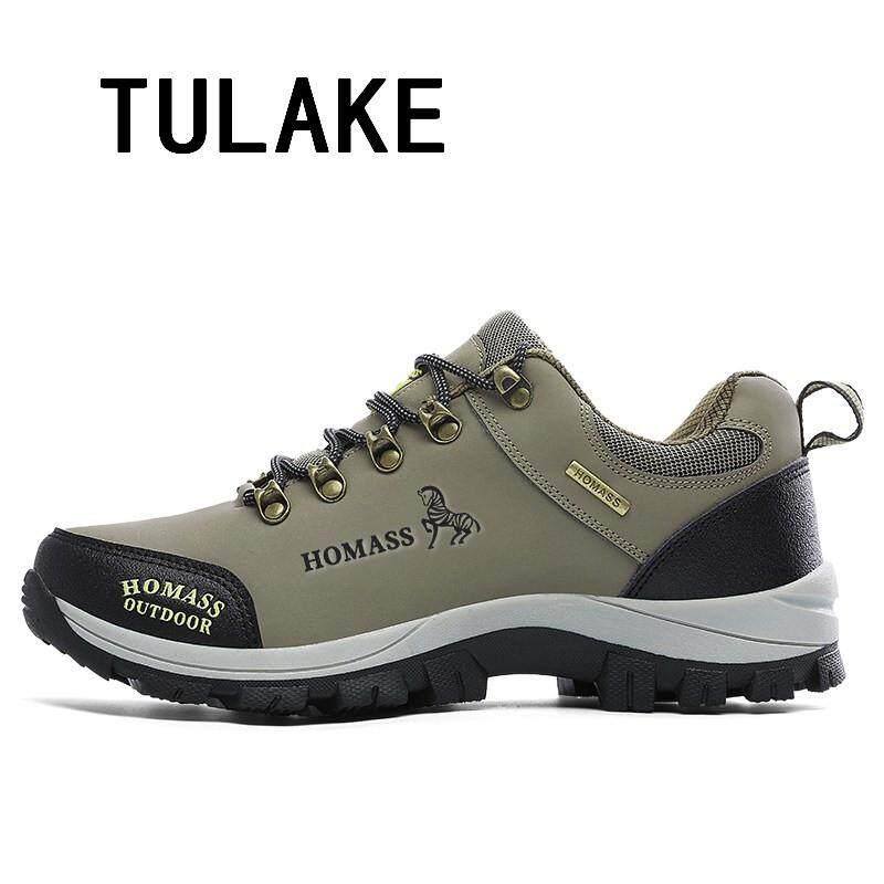 Detail Gambar Sepatu Outdoor Sepatu Kets Pria Wanita Sepatu Boot Fashion  BERENDA atau Non-Slip 0a625f89b3