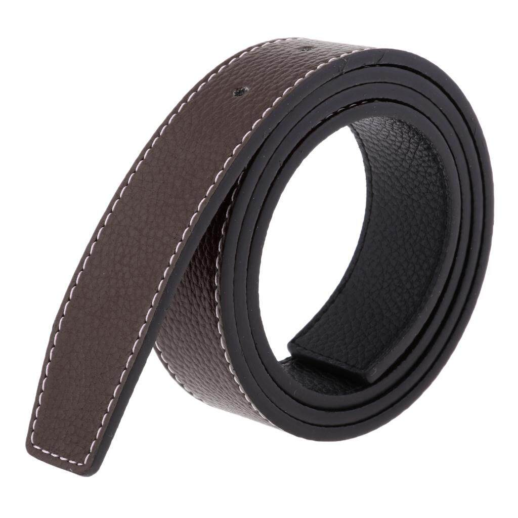 Magideal Mens Business Belt Strap Waistband Without Buckle Belts Replacement Coffee By Magideal.