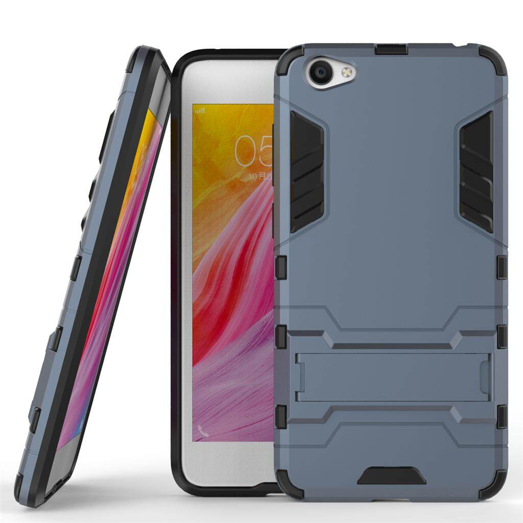 MYR 19. TPU and PC 2 in 1 phone Case cover with Kickstand Rugged Armor Back Case cover for VIVO Y55 / Y55S ...