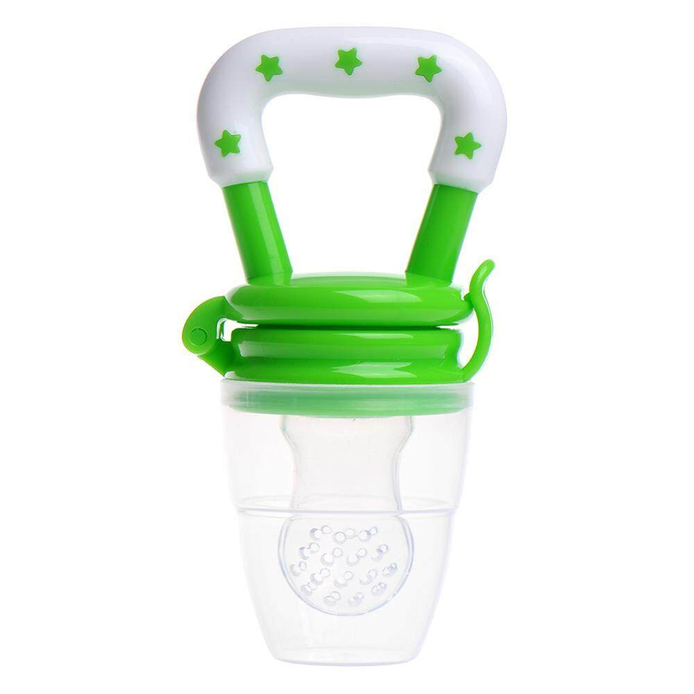 Dot Bayi Makanan Segar Buah Botol Susu Anak-anak Dot Pakan Aman (Ukuran M