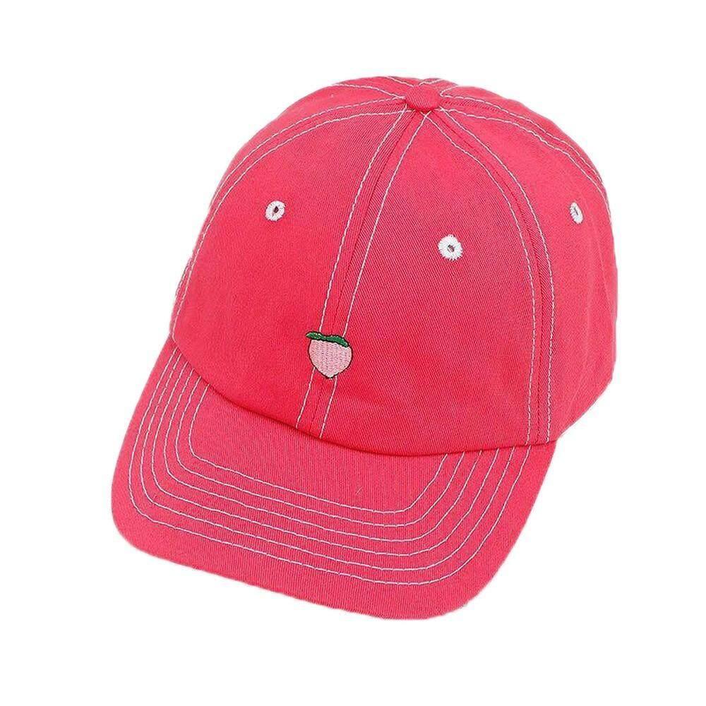 Pria Gambar Buah Topi Sulam Taktis Topi Bisbol Warna Populer