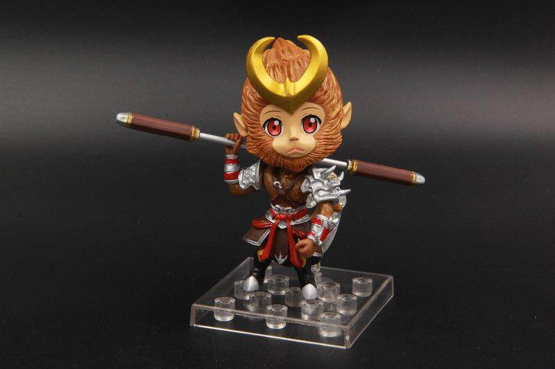 【Sun Wukong a204】King's Alliance Pesticide Second Generation Q Edition Doll Car Decoration Hand