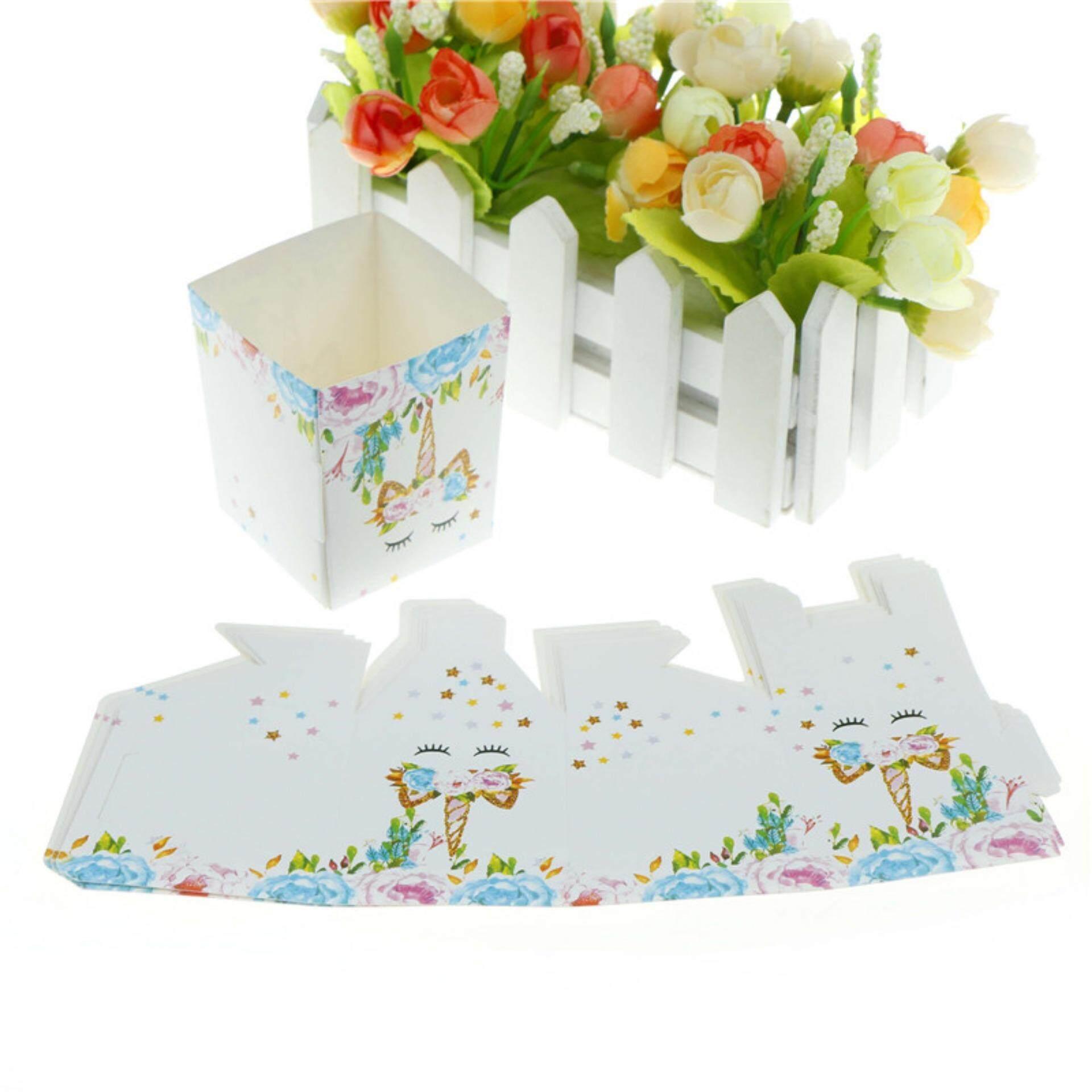 Beli sekarang 6pcs Unicorn Popcorn Box Gift Candy Boxes for Kids Happy  Birthday Party Decor terbaik murah - Hanya Rp35.529 b46d3f63fb