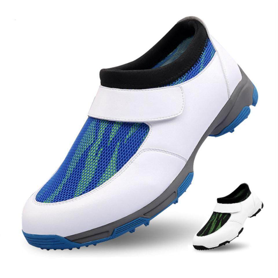 2018 Shoes Mens Sneakers Anti Sideslip Spiked Shoes Breathable Pgmgolf Shoes By Aukey Mall.