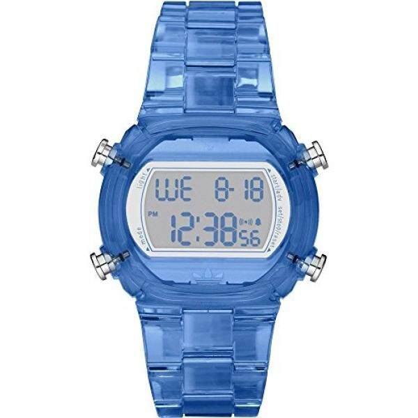 Adidas Nylon Candy Digital Grey Dial Unisex watch #ADH6507 - intl