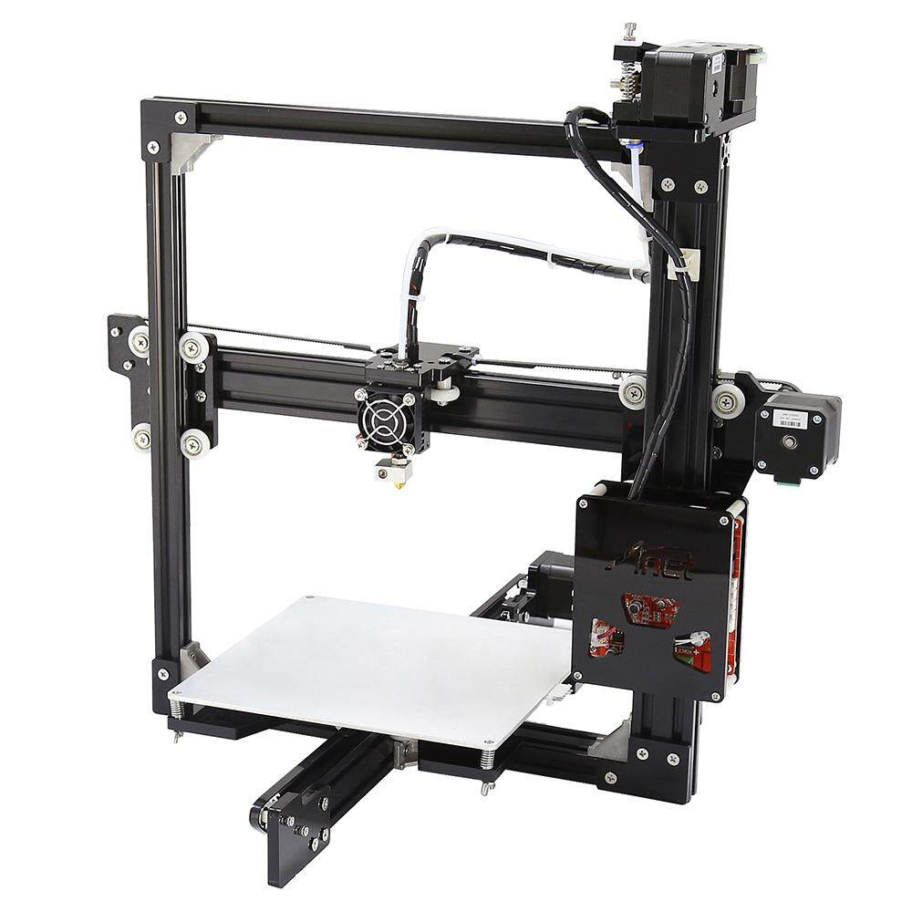 Anet A2 Aluminum Metal 3D Three-dimensional DIY Printer with TF Card Off-line Printing / LCD DisplayUS PLUG