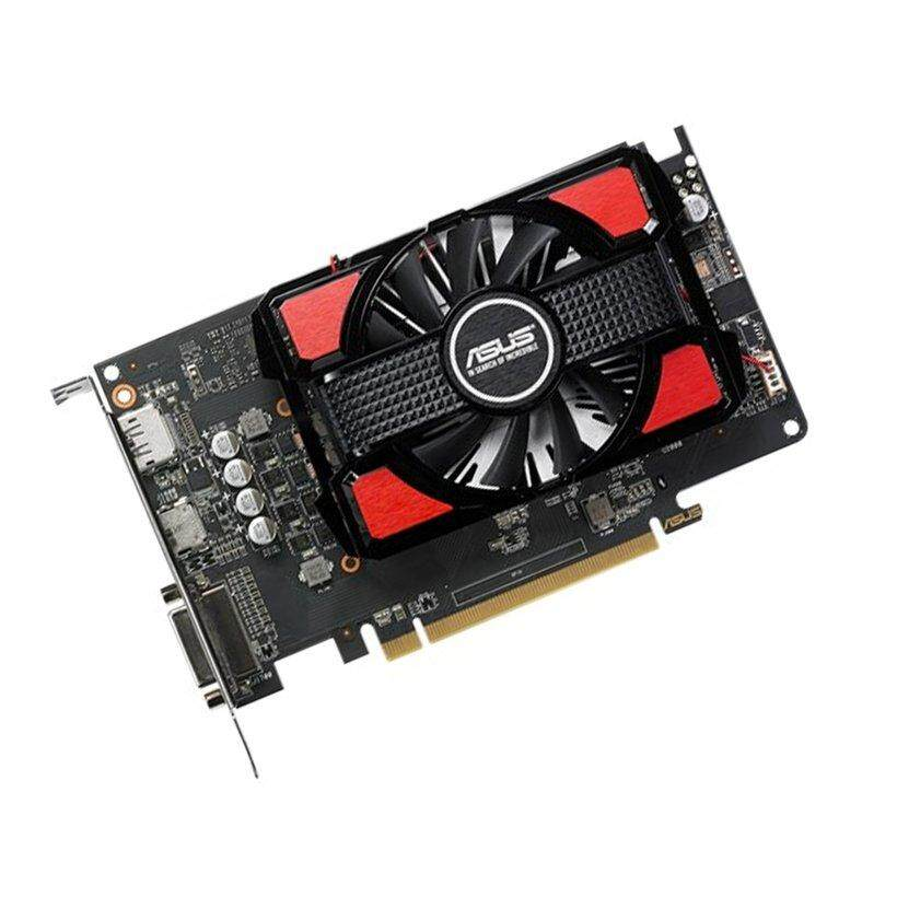 Uinn ASUS Radeon RX 550 4G GDDR5 DP HDMI DVI AMD Kartu Grafis Kartu Video Game