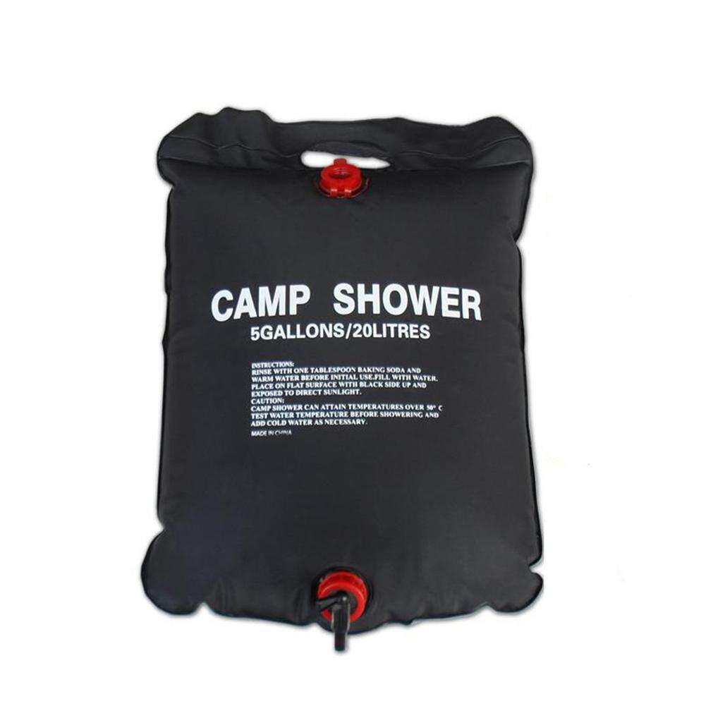 Magiccube *20l Shower Bag Foldable Solar Energy Heated Camp Pvc Water Bag Outdoor Camping Travel Hiking By Magic Cube Express.