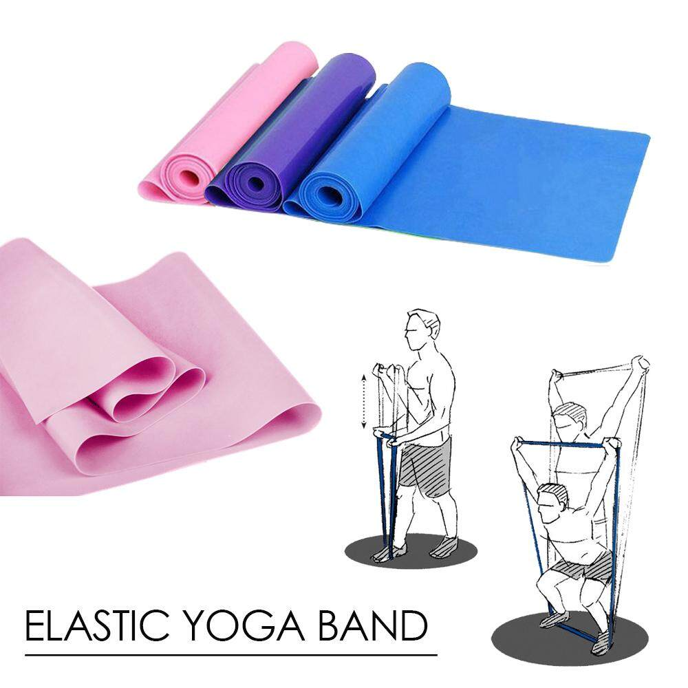 (RAYA 2019) SOKANO Elastic Yoga Band Pilates Yoga Sports Workout Aerobics Rubber Sport Loop