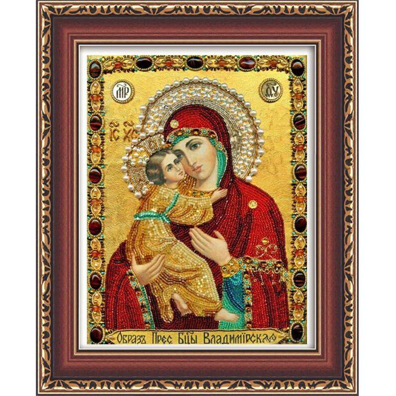 Cross Stitch New Living Room 5d Diamond Painting The Virgin Of The Russian Wind Entrance Crystal Round Diamond Foreign Trade Explosion30*40 By Glimmer.