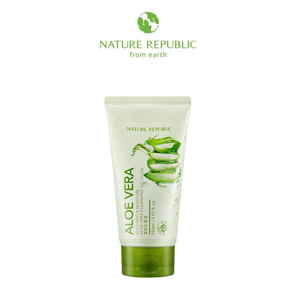 Nature Republic Health Beauty Skincare Price In Malaysia Best Ature Aloe Vera Soothing Moisture Cleansing Gel Foam 150ml