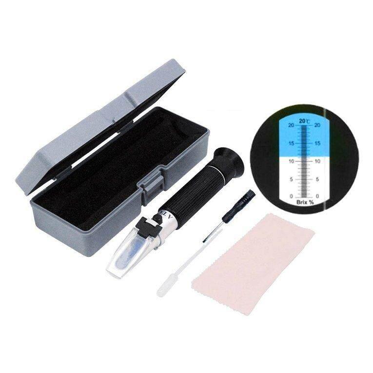 OSMAN 0-20% Handheld Fruit Sugar Brix Refractometer Sweetness Saccharimeter Meters