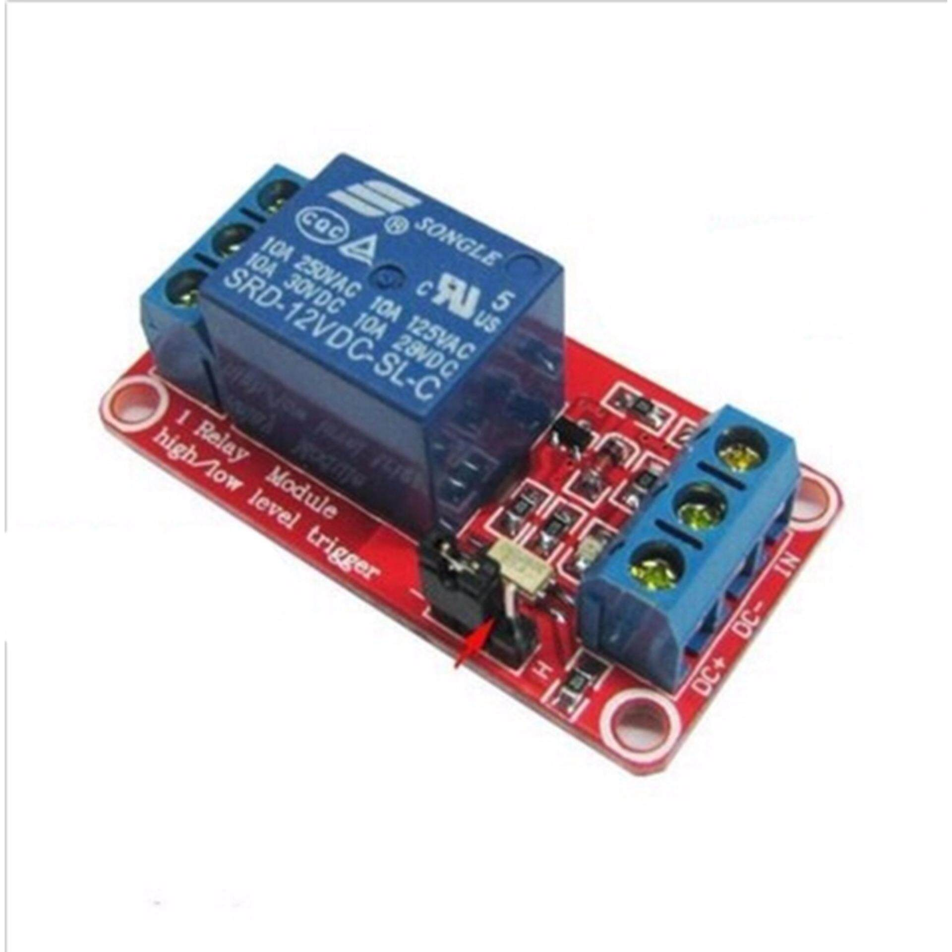 Hình ảnh 12V1 Channel Relay Module With Optocoupler Isolation High And Low Level Trigger