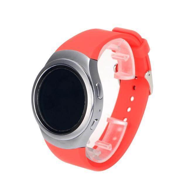 Luxury Silicone Watch Band Strap For Samsung Galaxy Gear S2 SM-R720 PK
