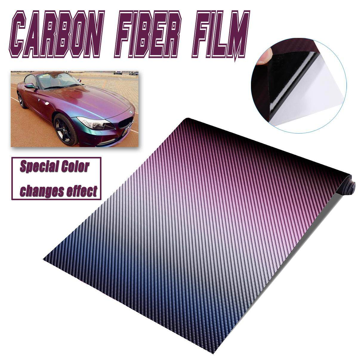 3d Carbon Fiber Vinyl Car Wrap Sheet Roll Film Sticker Decal 30cmx152cm By Audew.