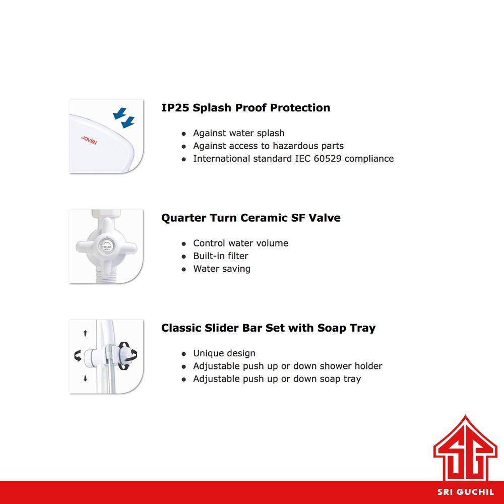 The excellence joven instant water heater pc 838p with pump and joven instant water heater pc 838p with pump 3 ccuart Images