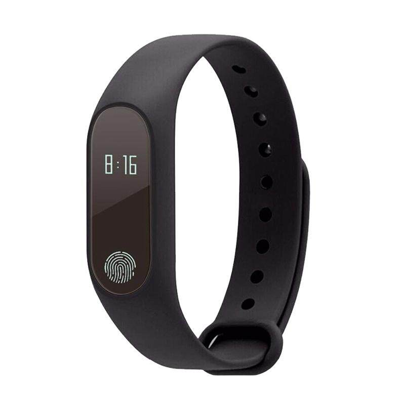 M2 Bluetooth Smartband Wristband Ip67 Waterproof Smartwatch Wristwatch Pedometer Fitness Activity Tracker Heart Rate Monitor For Iphone Ios Android Smartphones (black) By Sunshineyou.