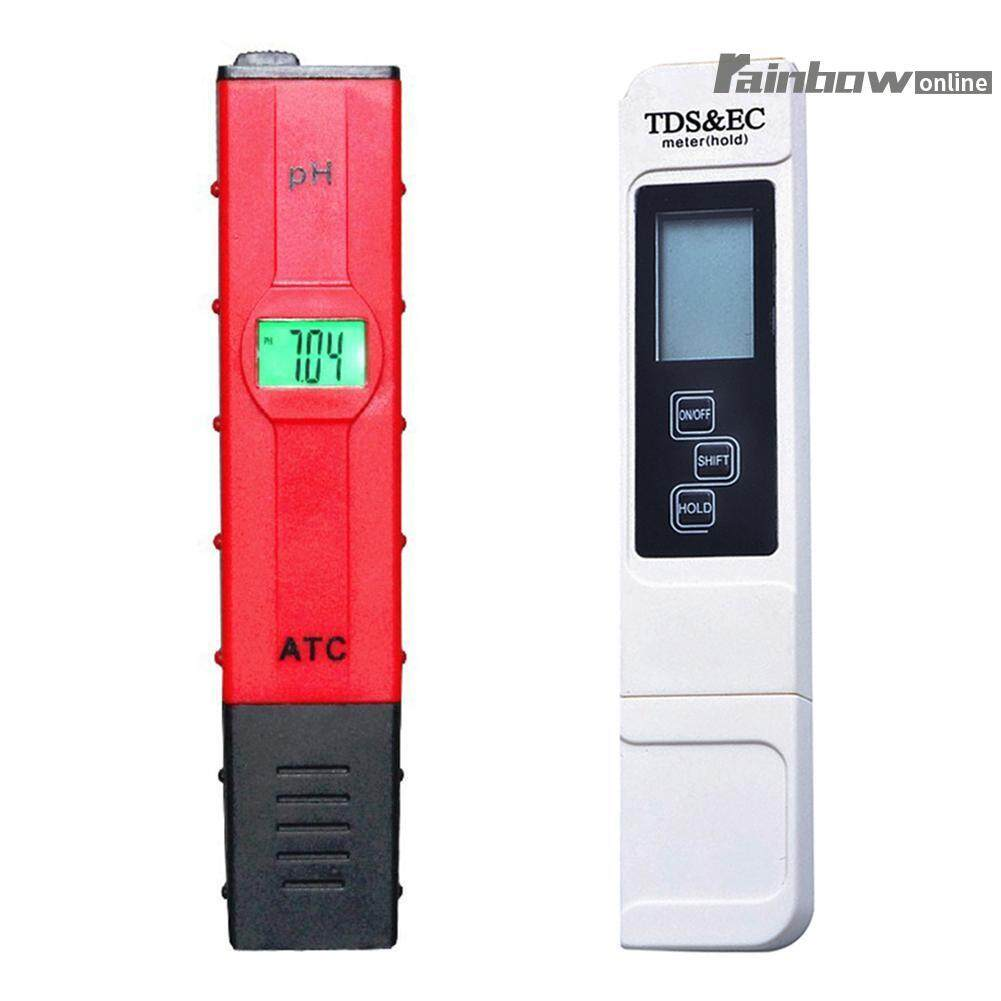 2pcs Digital Ph Tds Ec Water Quality Tester Meter Pen Lcd Monitor - Intl By Rainbowonline.