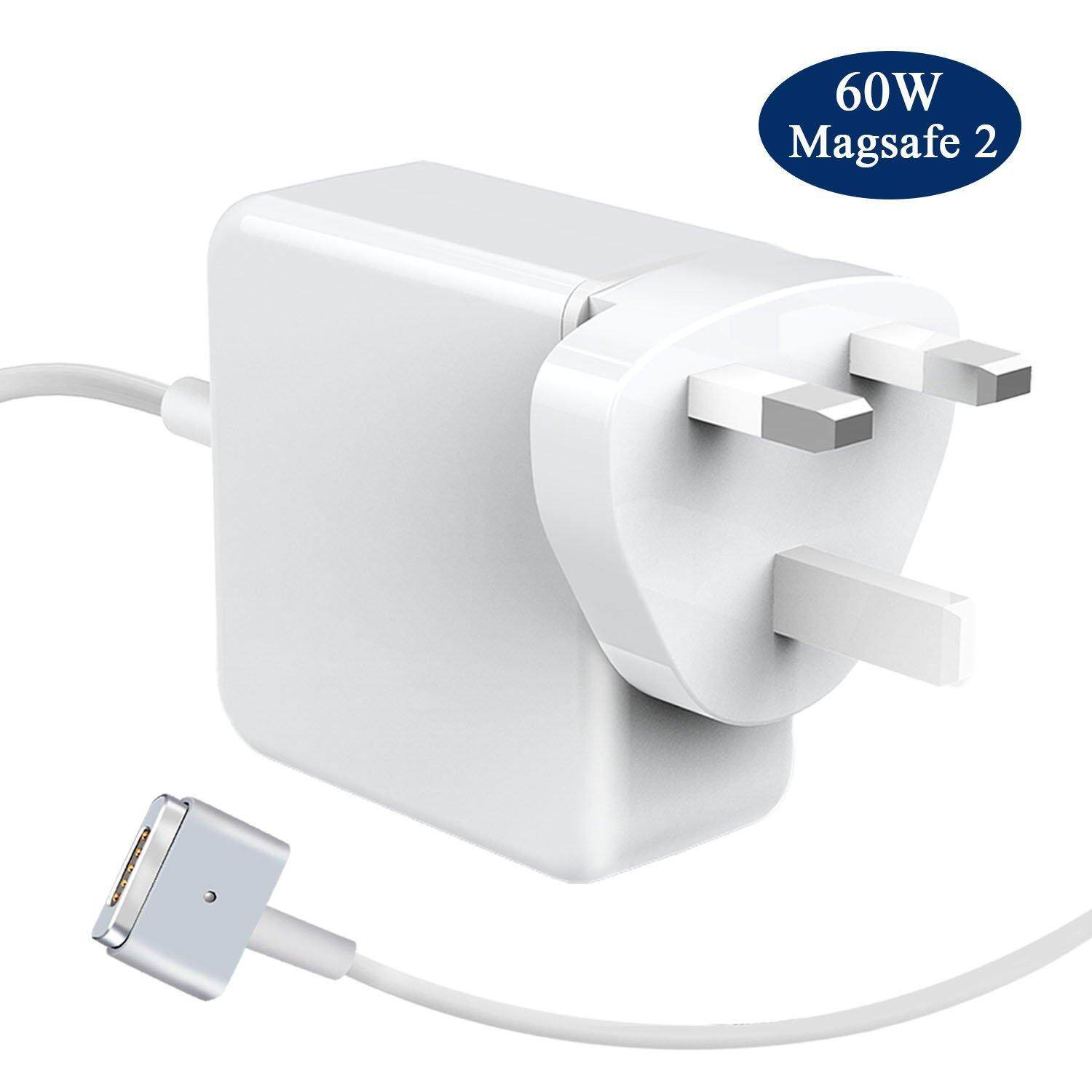 60W Magsafe 2 Power Adapter for Apple Macbook Pro 13 inch UK Adapter T Shape