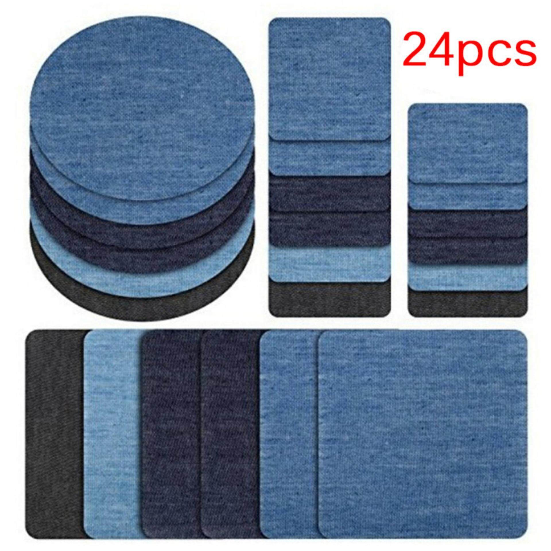 Mua 24pcs Iron On Patches Repair Elbow Knee Sew On Patches Craft DIY Accessories
