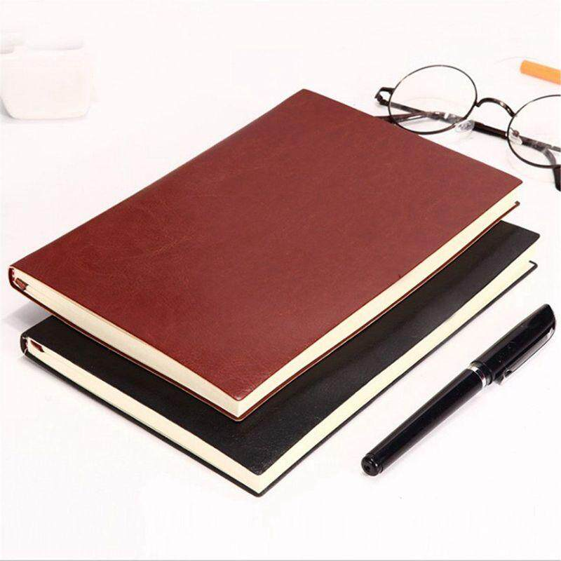6 Color Random Soft Cover PU Leather Notebook Writing Journal 100 Page Lined .