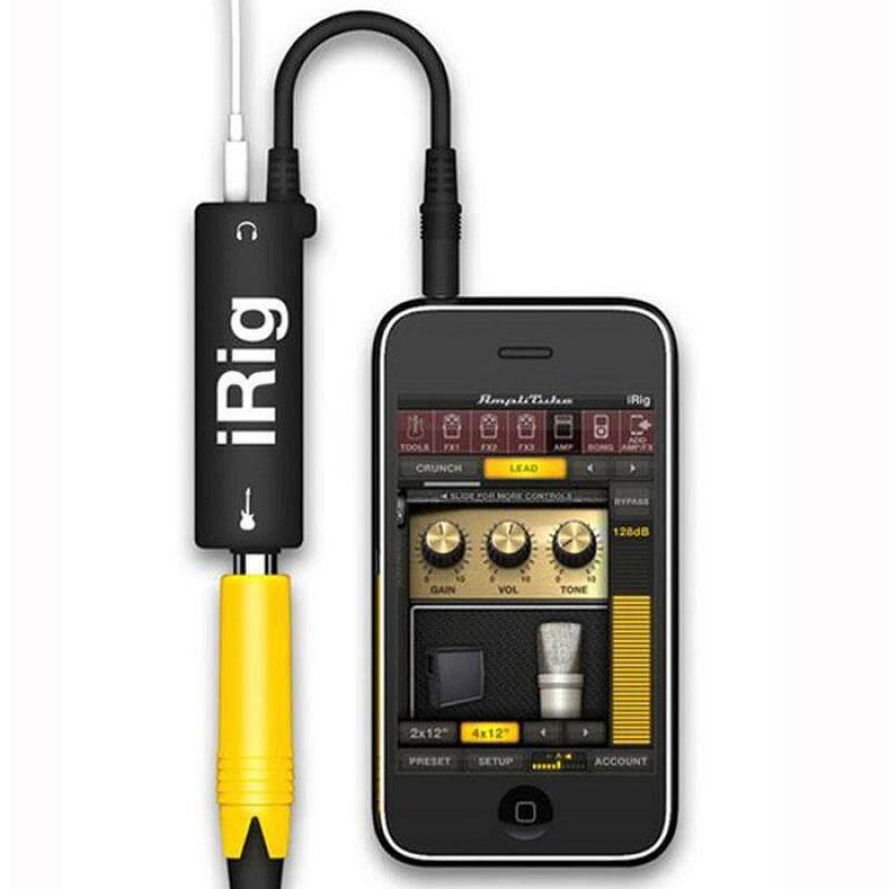 Honioer Multimedia IRig Guitar Adapter Interface Ampli For Iphone Ipad Ipod Malaysia
