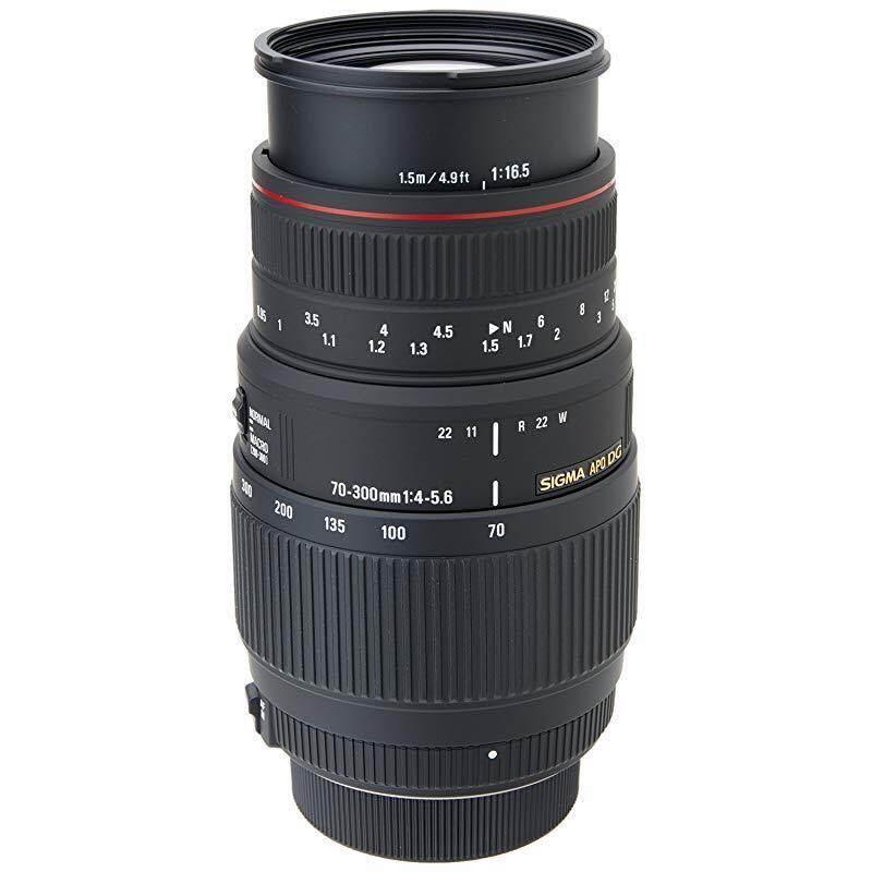 Sigma 70-300mm f/4-5.6 DG APO Macro Motorized Telephoto Zoom Lens for Nikon SLR Cameras , Nikon SLR Cameras