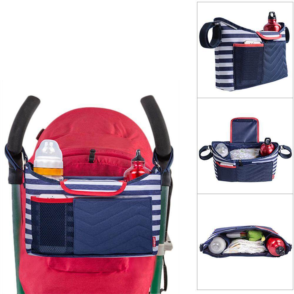 2365bbf6d1 GoodGreat Baby Stroller Organizer Changing Pad Fits All Strollers, Cup  Holders, Extra-Large