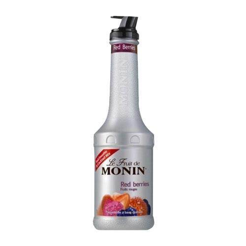 MONIN RED BERRIES FRUITMIX PUREE 1LT