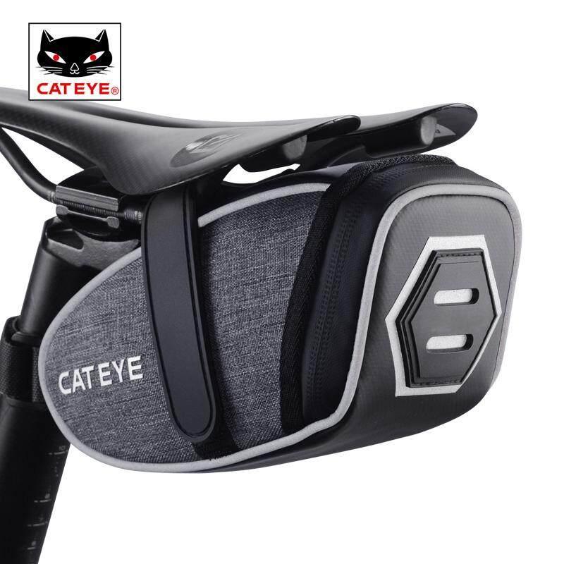 Cateye Bicycle Bike Saddle Bag Storage Cycling Seat Pouch Rear Tail Tool Bag