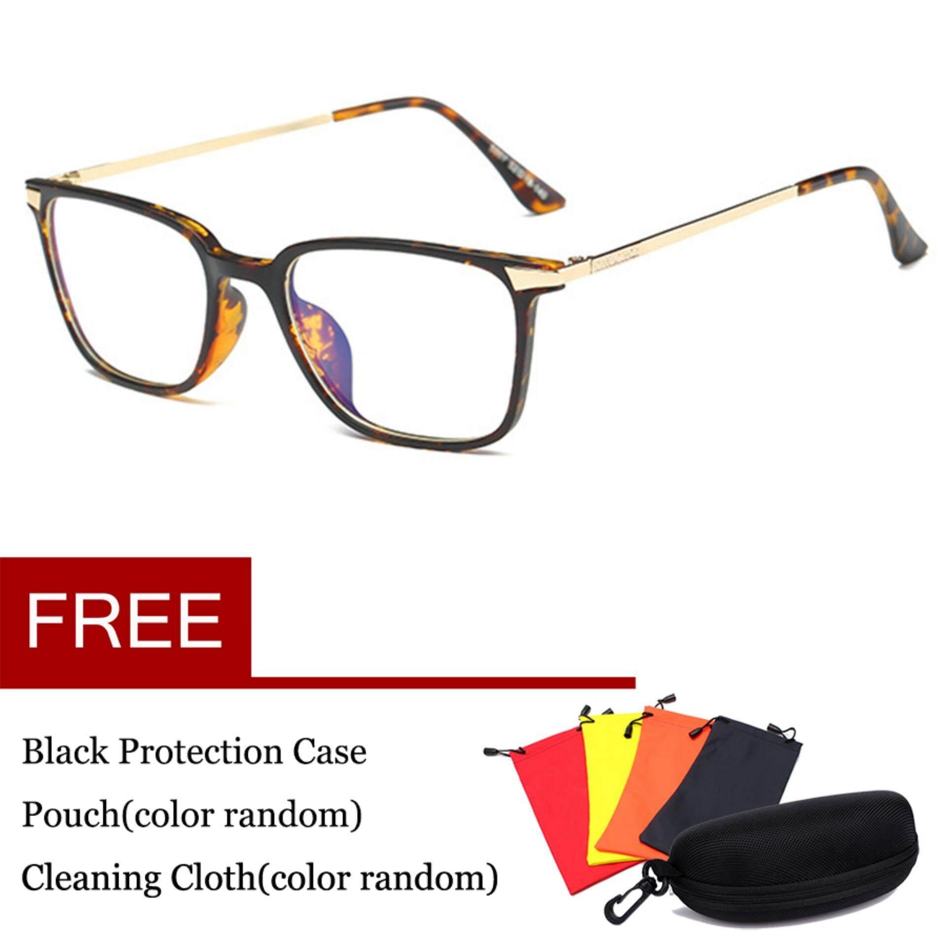 Computer Gaming Glasses Anti Blue Light Anti Reflective Anti Glare Anti Eye Strain Lens 100% Uv Protection 0.00x Eyewear 5007 By Thomasstore.
