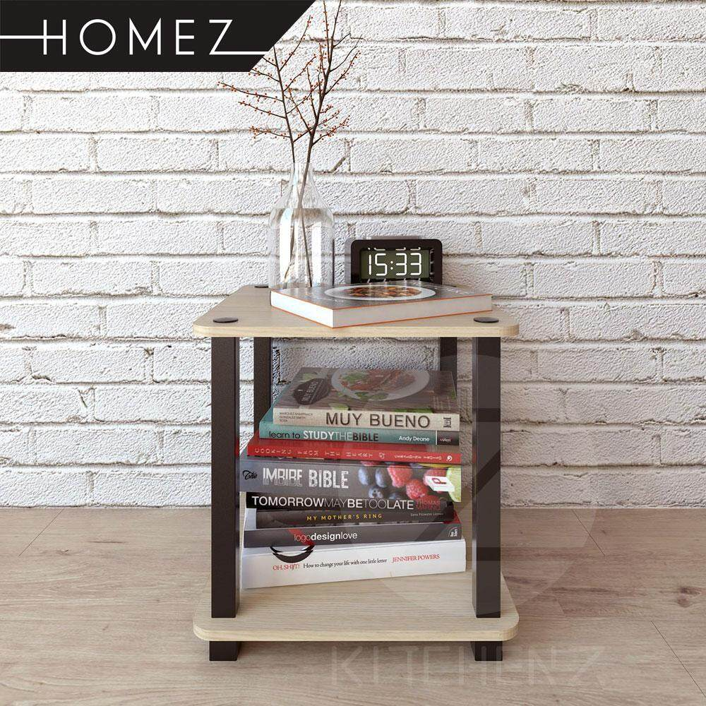 Homez Side Table HMZ-ST-DT-5009 Solid Board Side Table - 40 x 40