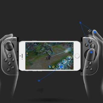 ราคาถูกที่สุด Handjoy Touch Buttons Gamepad Wireless Bluetooth Game Handle Controller shock sale - มีเพียง ฿1,963.48